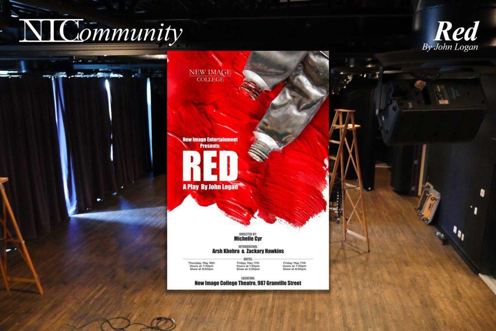 "NIC Play – Presents ""Red"" by John Logan"