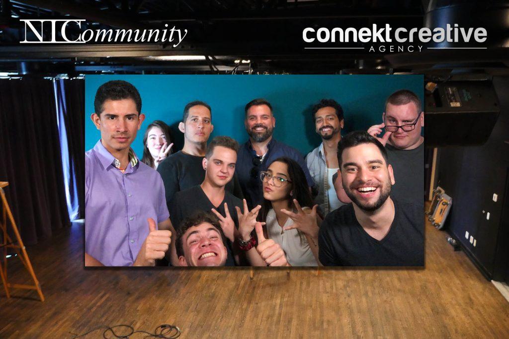 Connekt Creative visits NIC!