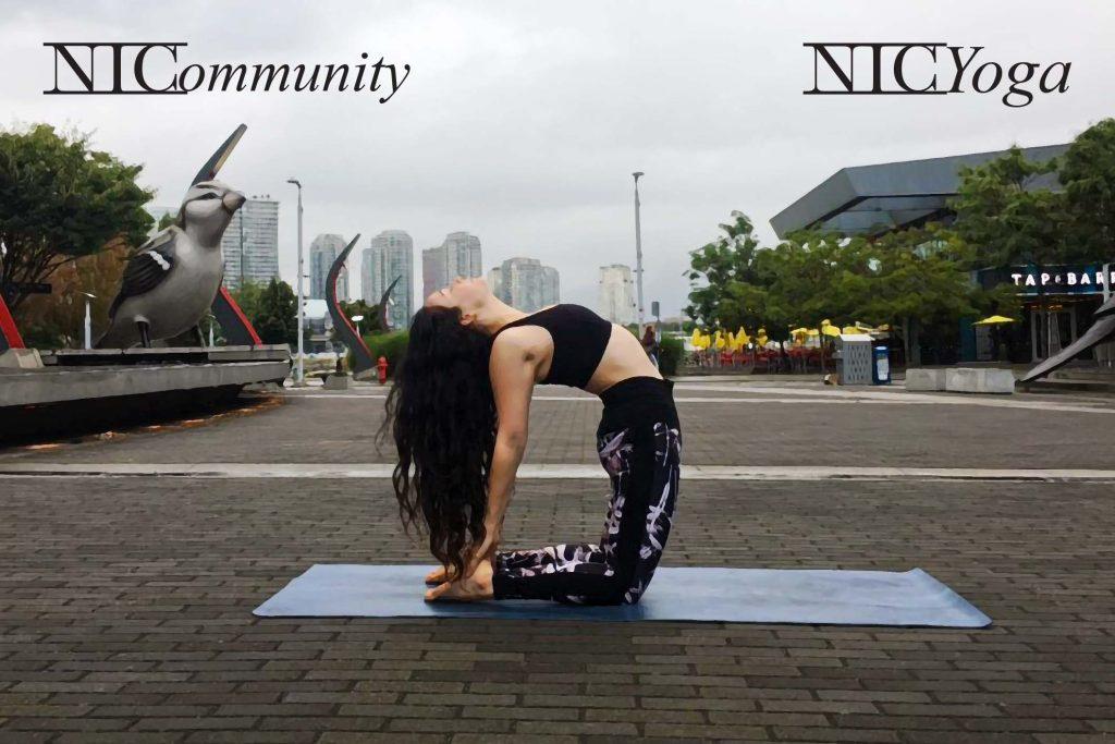 NIC Yoga with Matreya!