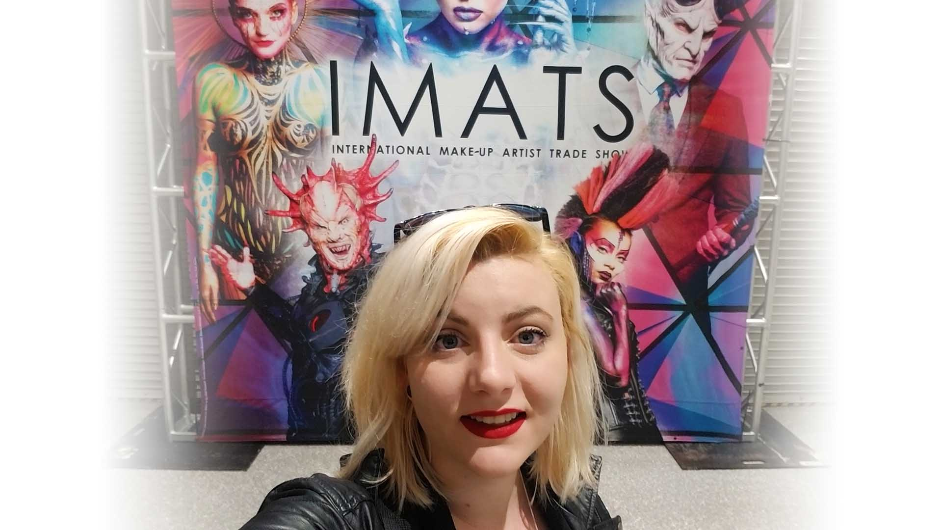 Christa Mills @ IMATS Battle of the Brushes!