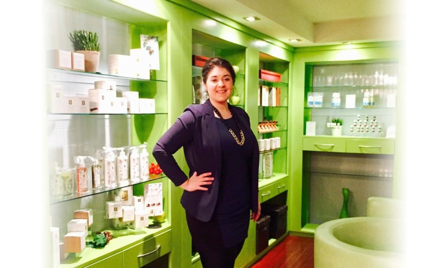 Amelia Stanowich is at pHresh Spa!