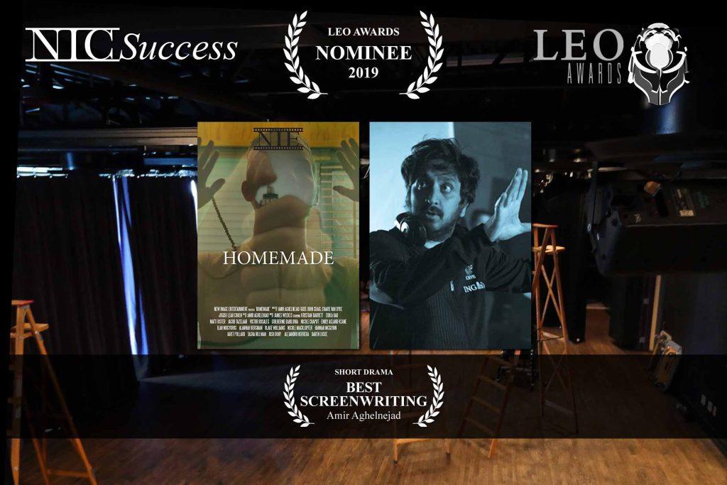 Amir Aghelnejad nominated for 2019 Leo!