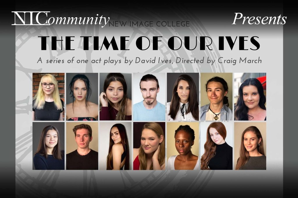 """NIC Play – Presents """"The Time of Our Ives"""" by David Ives"""