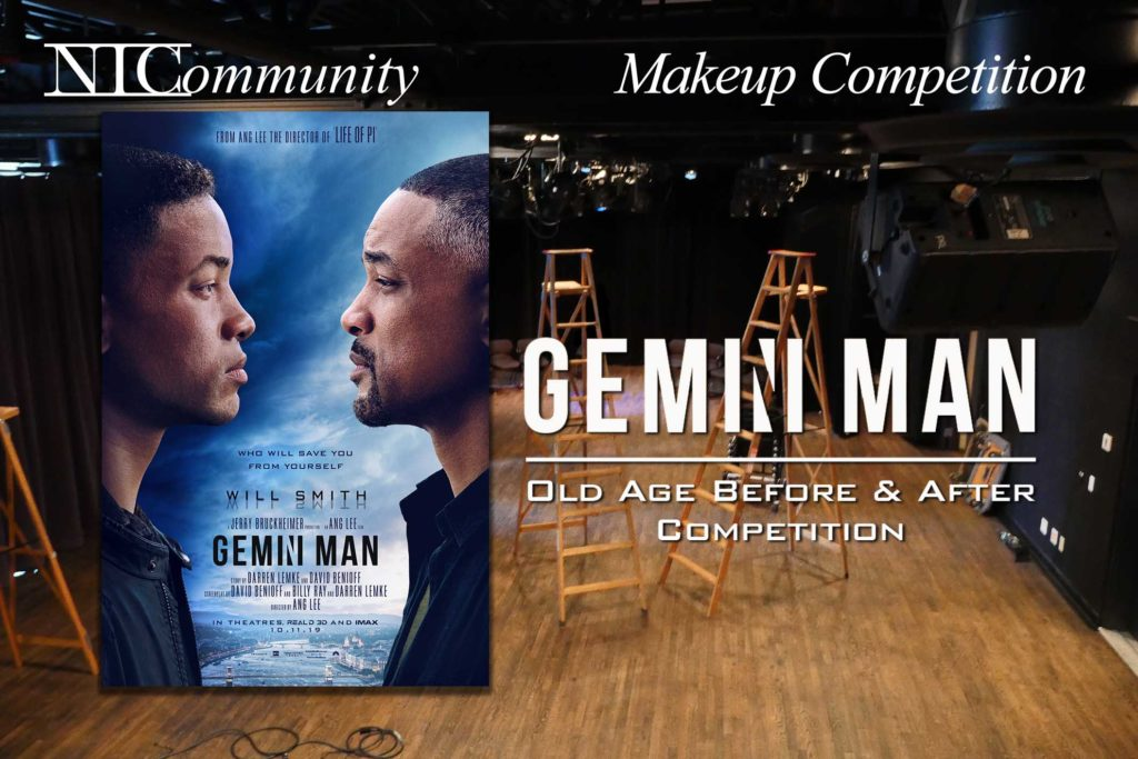 Gemini Man Before & After Makeup Competition!