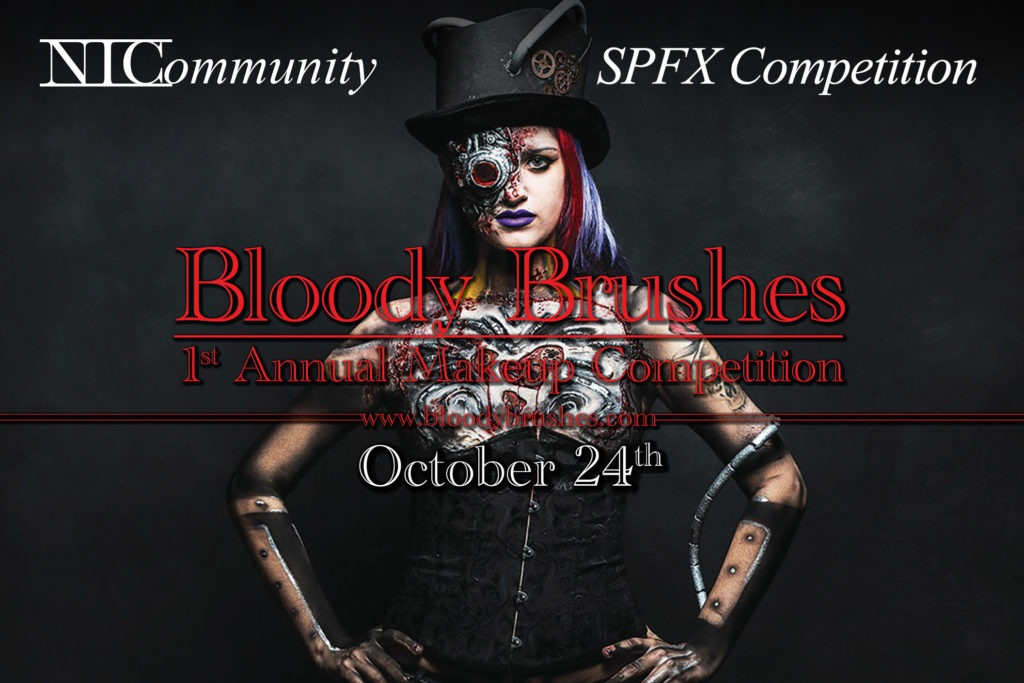 Bloody Brushes Makeup Competition!