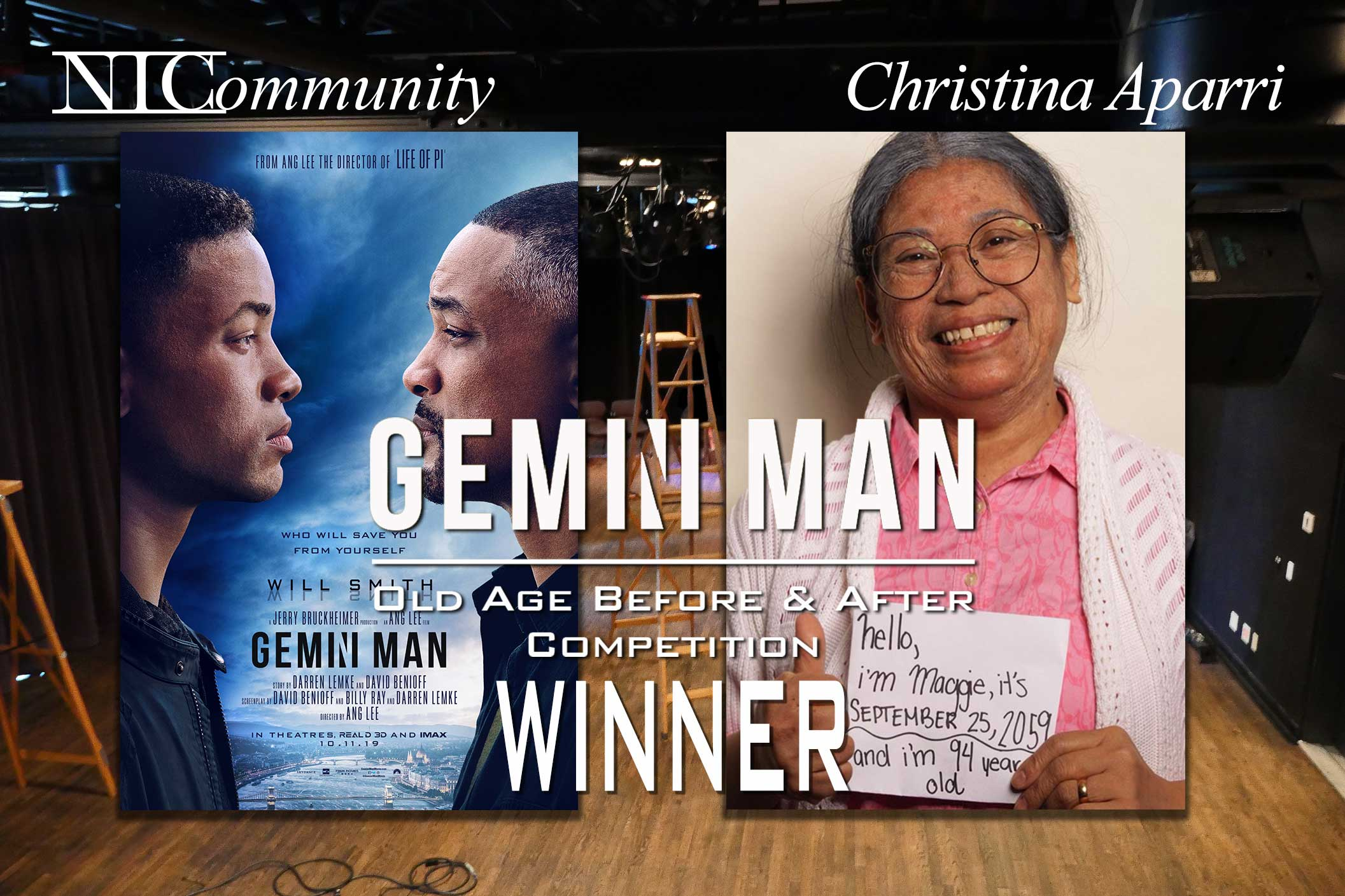 Christina Aparri Wins Gemini Man Competition!